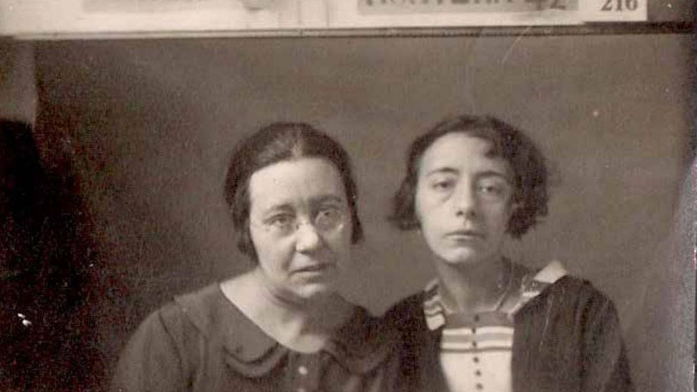 Foto: Las hermanas navarras Úriz Pi. (Olga Domínguez)