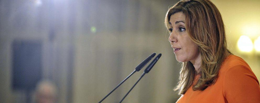 Foto: La presidenta de la Junta de Andalucía y secretaria general del PSOE andaluz, Susana Díaz en un acto del PSOE en Toledo (EFE)