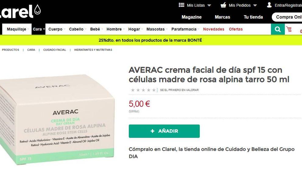 DIA entra en la guerra de las cremas 'low cost' para competir con Mercadona