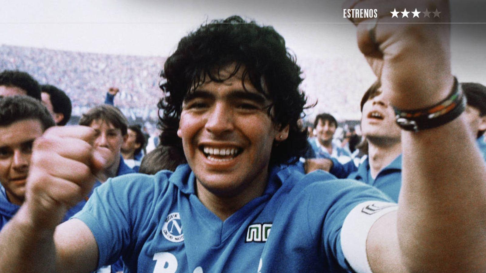 Foto: Asif Kapadia dirige el documental sobre Diego Armando Maradona. (Avalon)