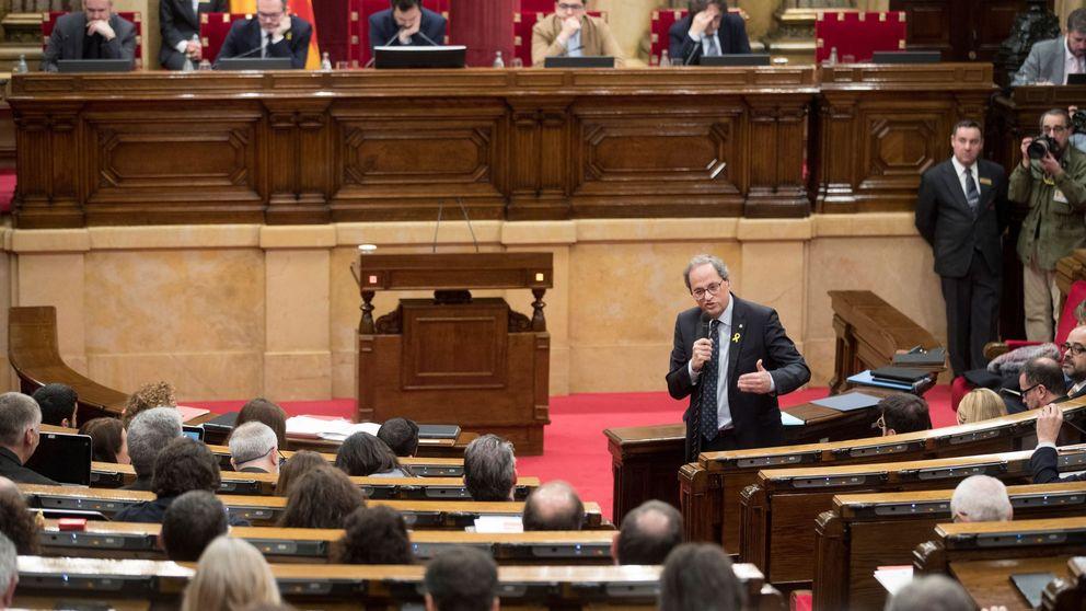 La actividad del Parlament se parará por el juicio del 'procés'
