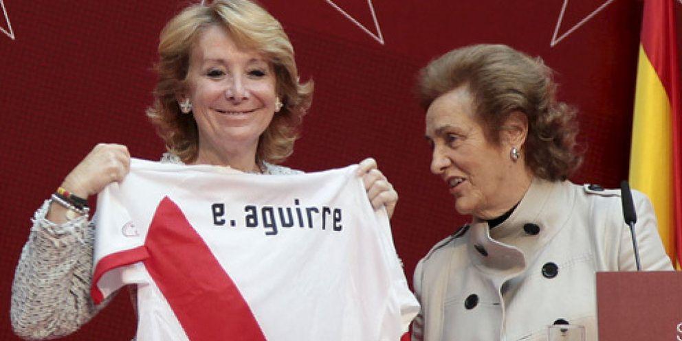 Foto: Teresa Rivero se ofreció a Esperanza Aguirre tras el 'tamayazo' para ir en las listas del PP