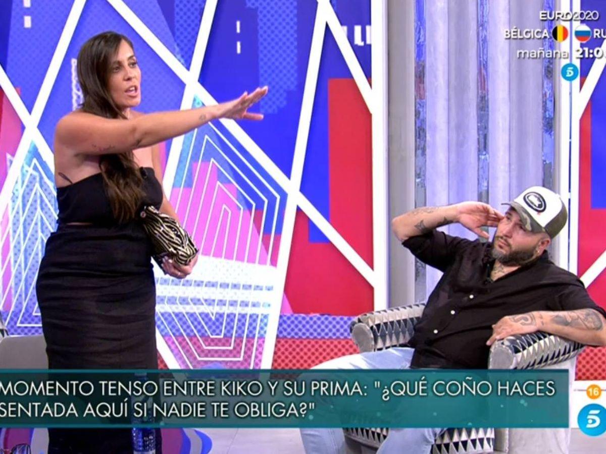 Foto: Anabel y Kiko, en 'Viernes Deluxe'. (Telecinco).