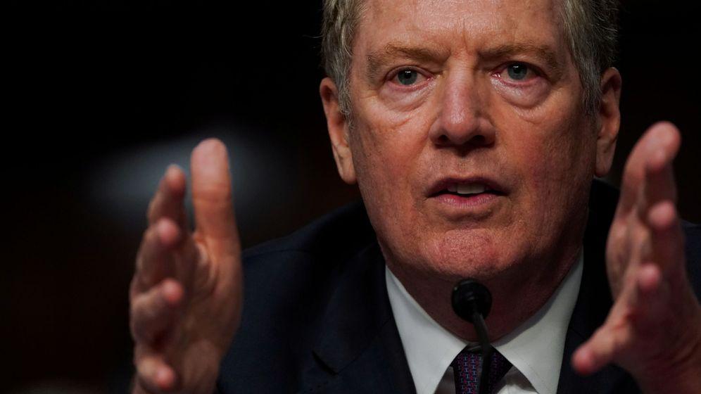 Foto: El representante de Comercio de Estados Unidos, Robert E. Lighthize. (Reuters)