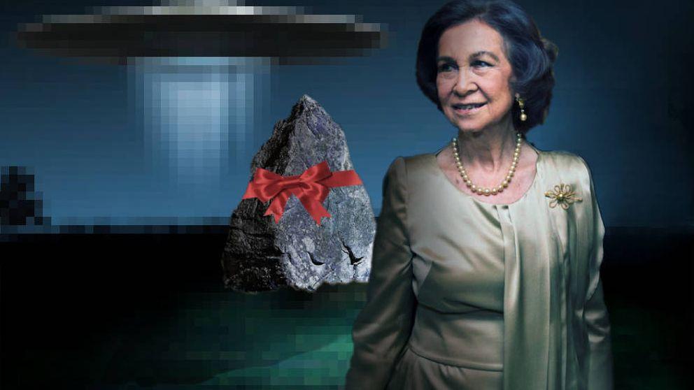 El enigma de Zarzuela: Letizia, Sofía y la piedra 'extraterrestre' de J. J. Benítez