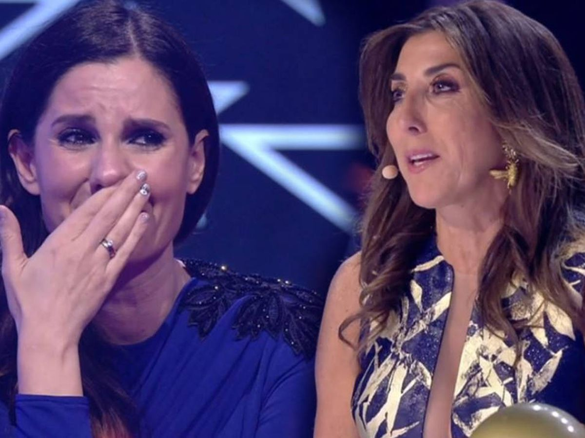 Foto: Diana Navarro y Paz Padilla, en 'Got Talent'. (Mediaset España)