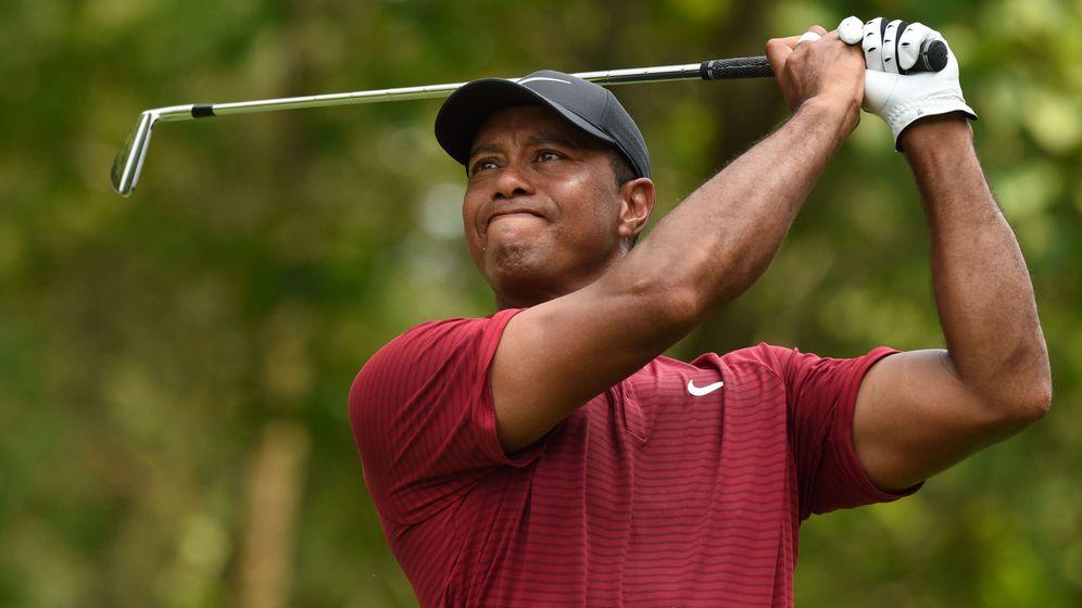 Foto: Tiger Woods, en la PGA. (EFE)