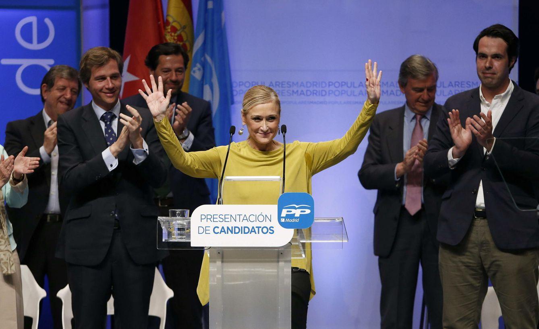 Foto: La candidata del PP a la Presidencia de la Comunidad de Madrid, Cristina Cifuentes (Efe).