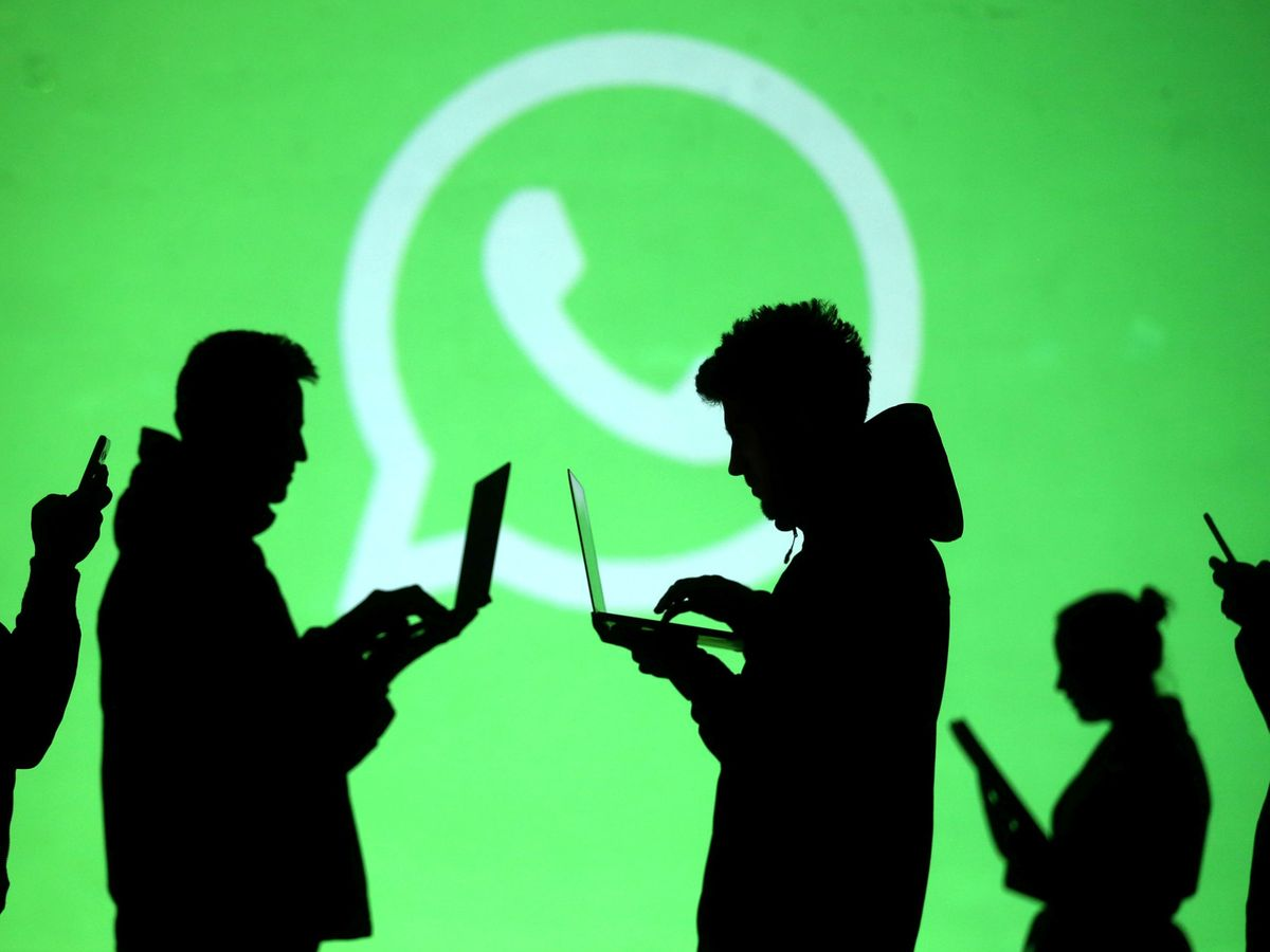 Foto: Logo de WhatsApp. (Reuters)
