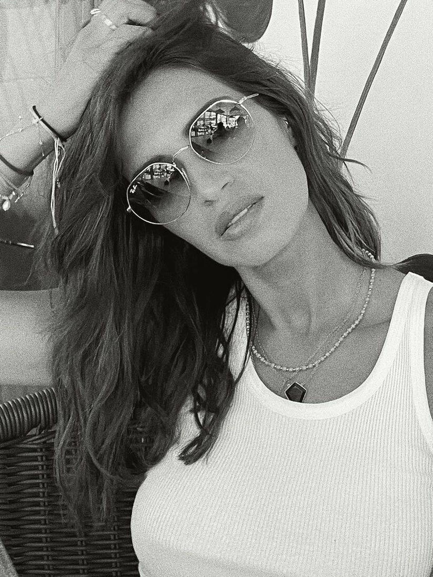 El nuevo look rizado de Sara Carbonero. (Instagram @saracarbonero)