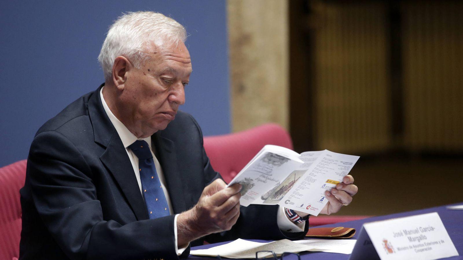 """Foto:  """"No, no el problema es de sujeto, verbo y predicado"""", dice el ministro. (Efe)"""