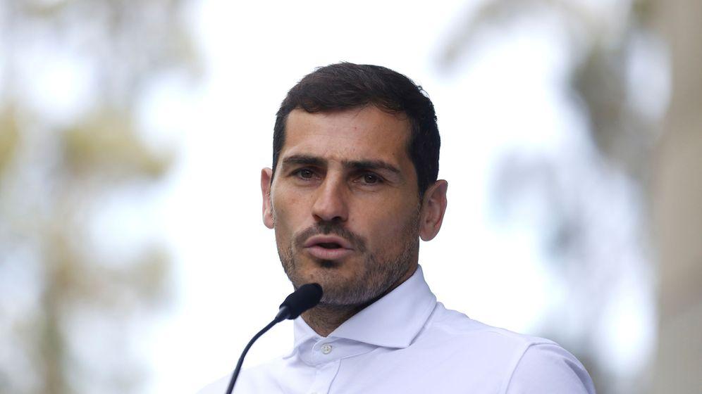 Foto: Iker Casillas se presenta a las elecciones de la Federación Española de Fútbol. (EFE)