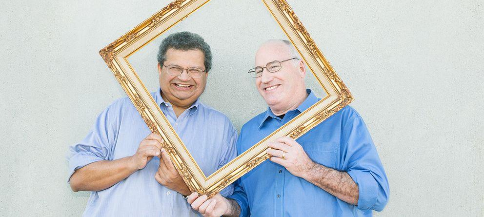 Foto: Rao y Sutton, compañeros en la institución californiana. (Universidad de Stanford)