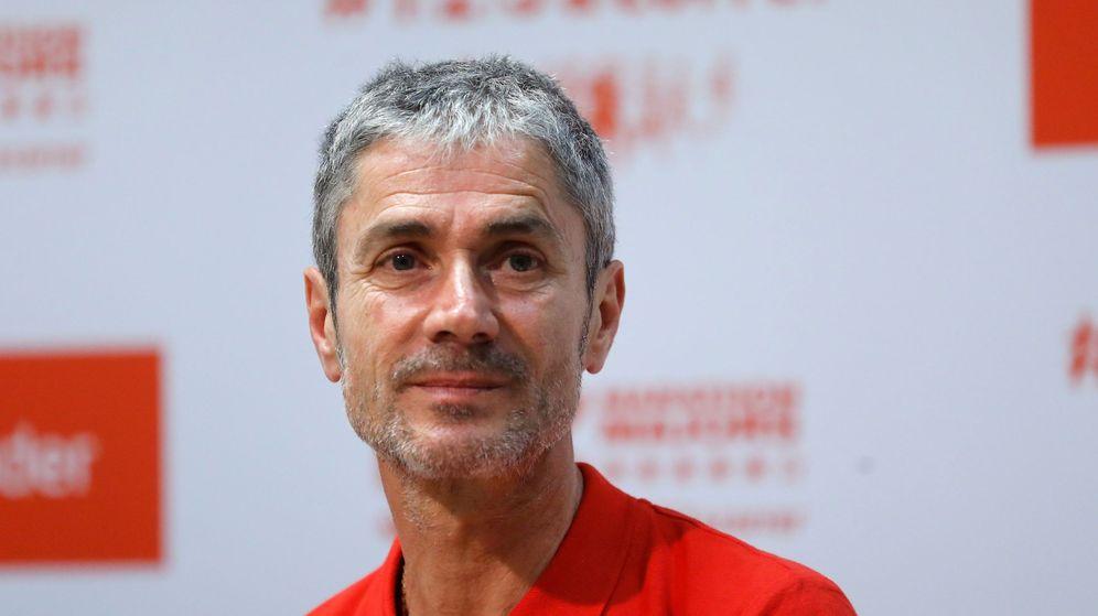 Foto: Martín Fiz, a sus 55 años, es la primera persona que gana las seis grandes maratones. (Efe)