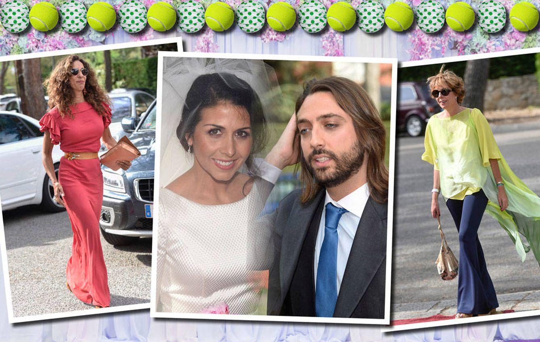Foto: Rosario Flores, Simoneta Gómez-Acebo, Elena Furiase… los invitados a la boda de Sara Verdasco y Juan Carmona