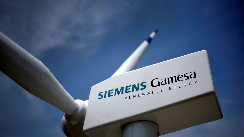 Foto: Un aerogenerador de Siemens Gamesa. (Reuters)