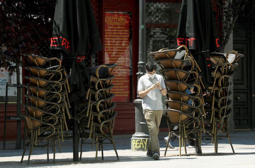 Foto: Este lunes vuelven las terrazas a Madrid. (EFE)