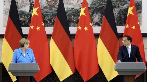 Merkel visita China