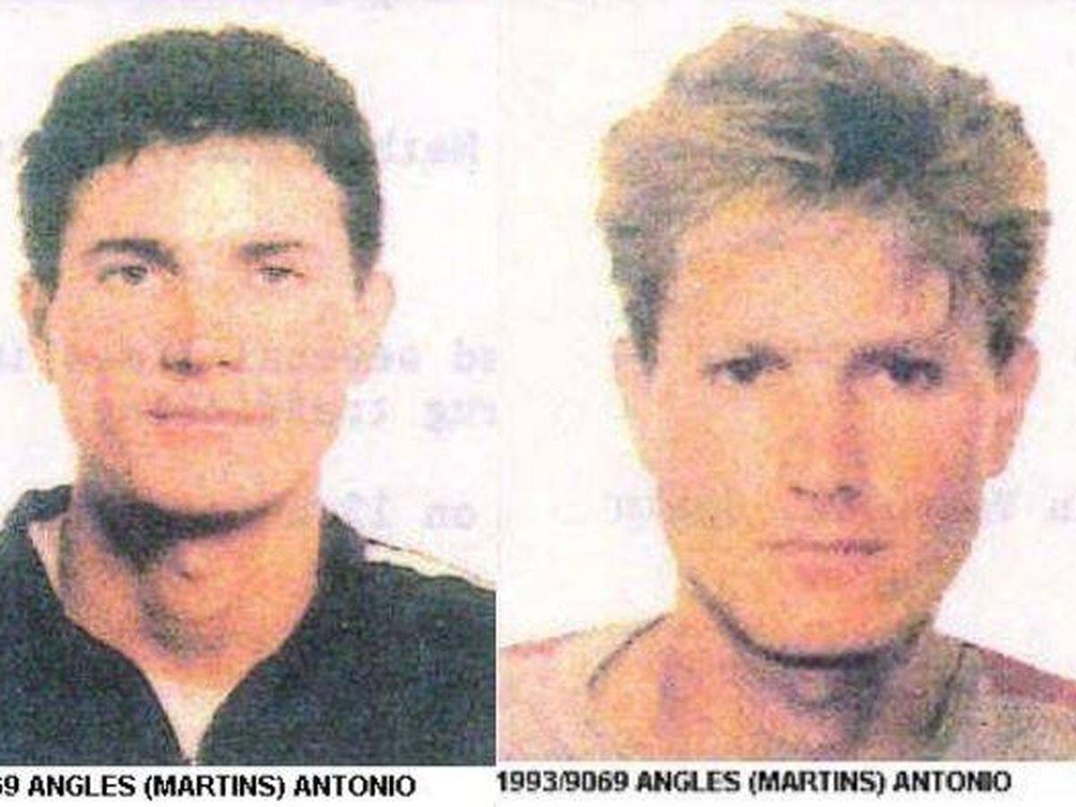 Foto: Los cambios de imagen de Antonio Anglés en 1993 (Interpol)