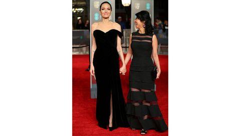 De Angelina Jolie a Jennifer Lawrence: las mejor y peor vestidas de la alfombra roja de los BAFTA