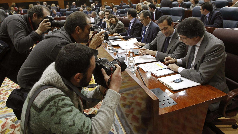 Pleno en la Asamblea de Madrid (Efe).