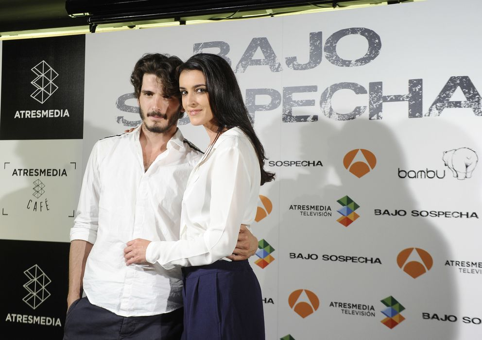Foto: Blanca y Yon en la presentación de la serie (Gtres)