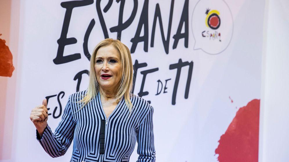 Foto: Cristina Cifuentes, en un reciente acto público celebrado en Madrid. (EFE)