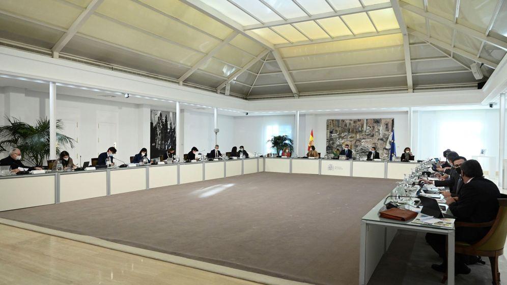 Foto: Reunión del Consejo de Ministros. (EFE)