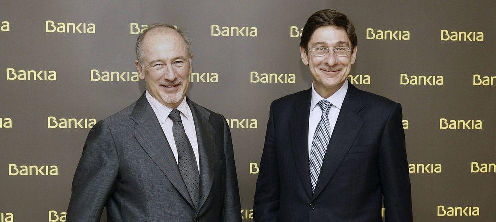 Foto: Goirigolzarri y Rato. en una imagen de 2012. (Efe)