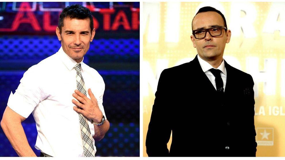 La 'pullita' de Jesús Vázquez a Risto Mejide en 'Levántate All Stars'