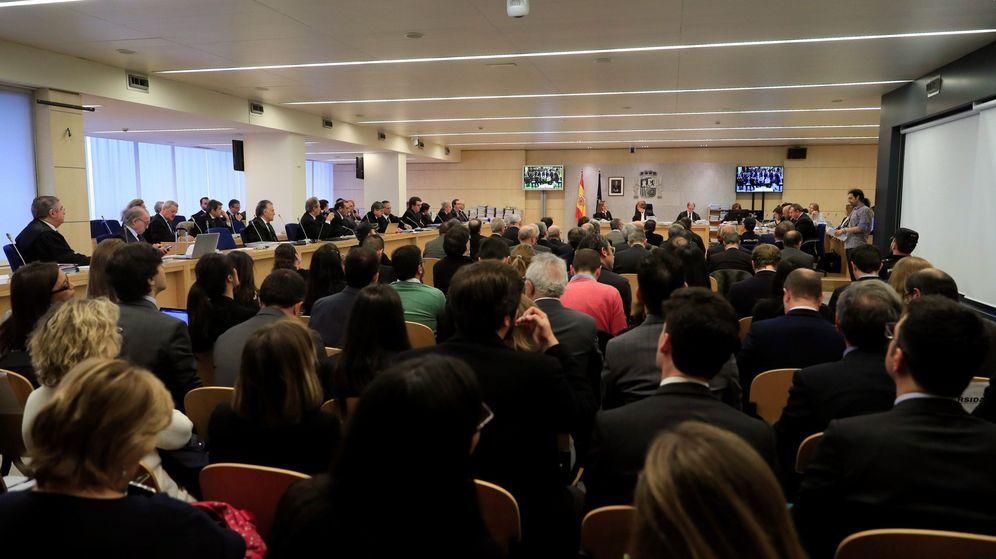 Foto: Sala del juicio de Bankia. (EFE)