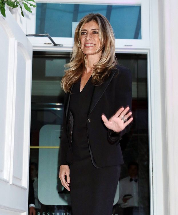 Foto: Begoña Gómez, en una cena solidaria en Madrid. (Cordon Press)