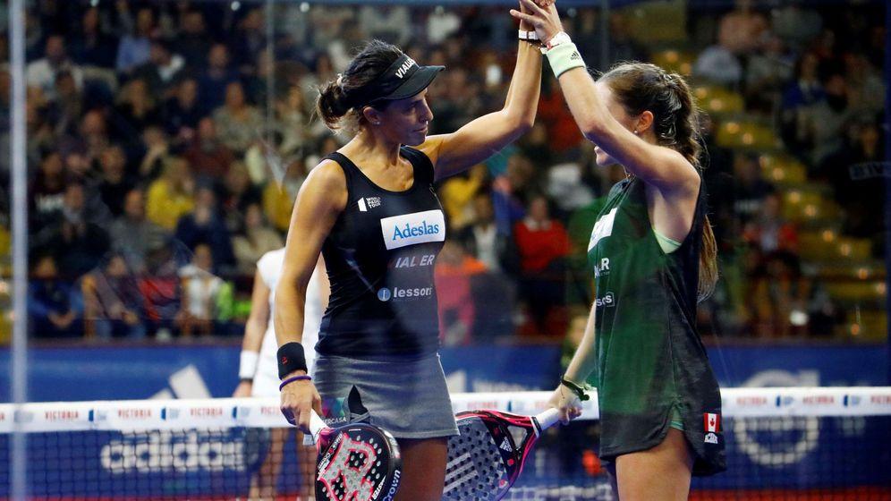 Foto: Marta Marrero (i) y Marta Ortega se aseguraron acabar 2019 como números 1. (EFE)
