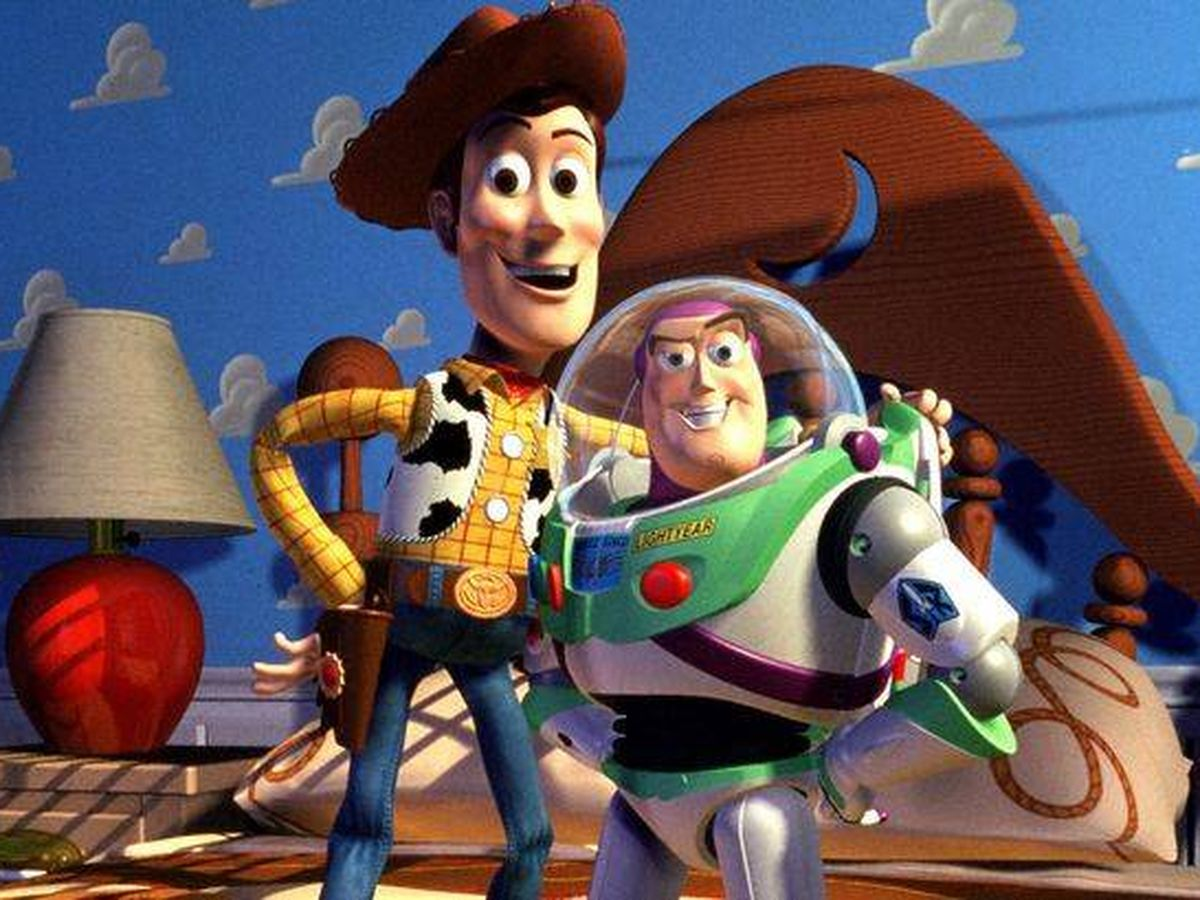 Foto: Woody y Buzz Lightyear.