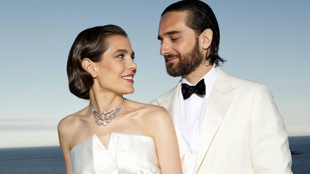 Foto:  Carlota Casiraghi y Dimitri Rassam el día de su boda. (Principado de Mónaco)