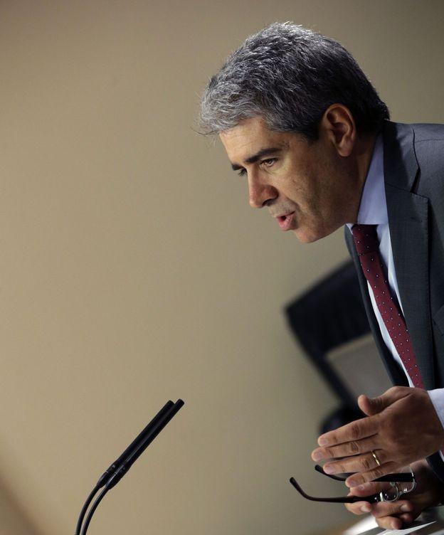 Foto: El portavoz de DiL en el Congreso, Francesc Homs. (EFE)