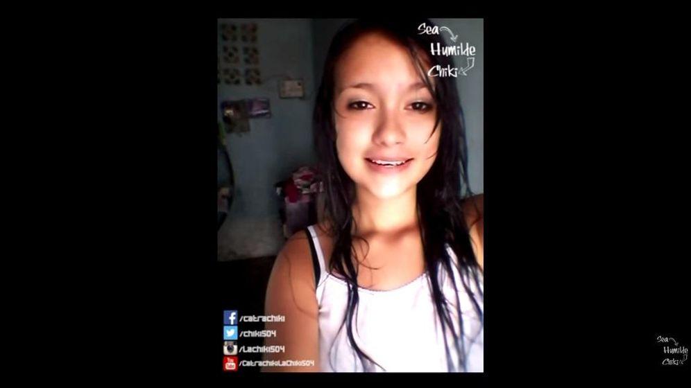 Foto: Paola Mejías es la joven que enseña en YouTube a vivir siendo pobre (Captura de YouTube)