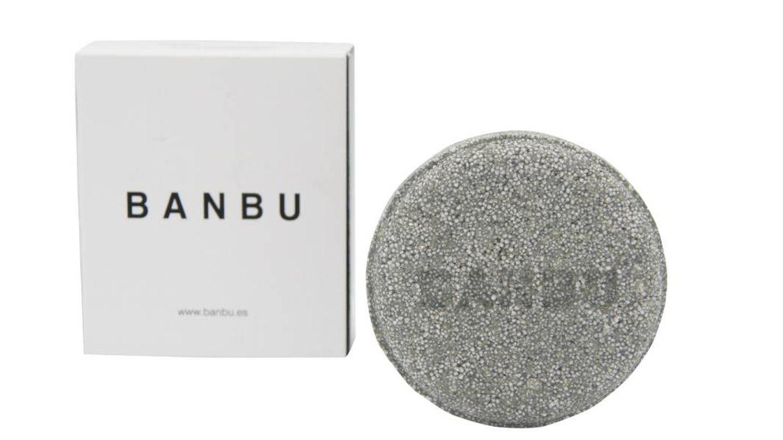 Champú sólido para pelo graso de Banbu (8,25€).