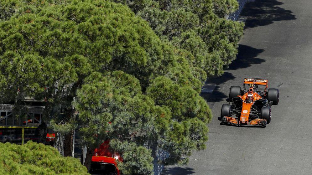 Foto: Stoffel Vandoorne en el Gran Premio de Mónaco. (EFE)