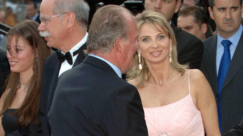 El rey Juan Carlos y Corinna, en 2011. (Getty)