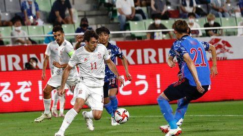 España tropieza frente a Japón en su primera prueba antes de los Juegos (1-1)