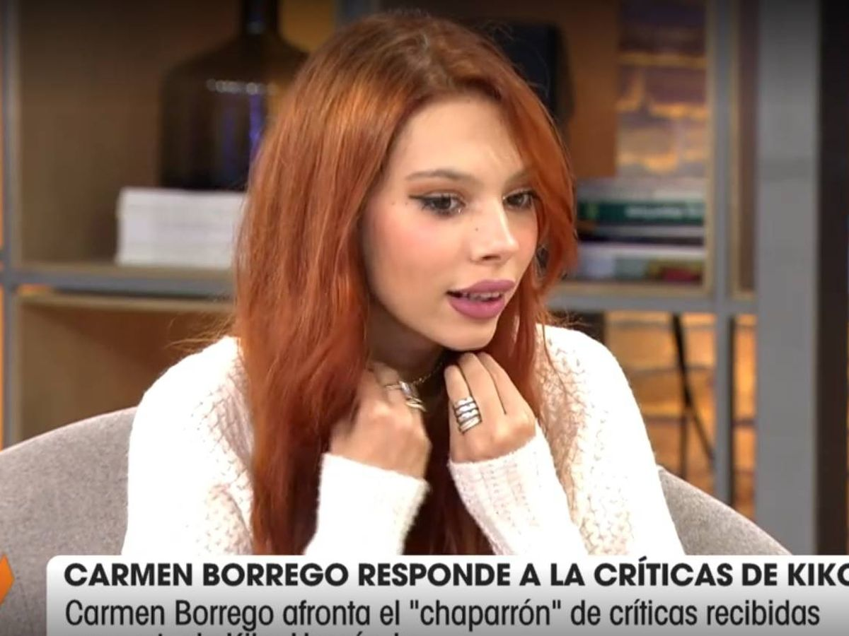 Alejandra Rubio contra Kiko Hernández por defender a Carmen borrego 7