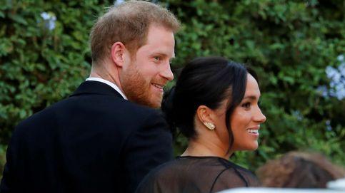 Meghan y Harry brillan en Roma en la boda de la amiga que los presentó