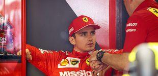 Post de El grotesco error de Ferrari que hizo explotar a Leclerc en su propia casa