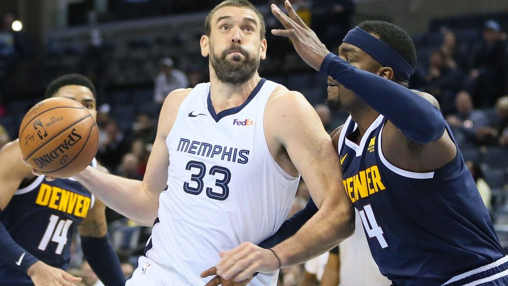 Foto: Marc Gasol sale de los Memphis Grizzlies casi once años después de su llegada al equipo. (USA Today Sports)