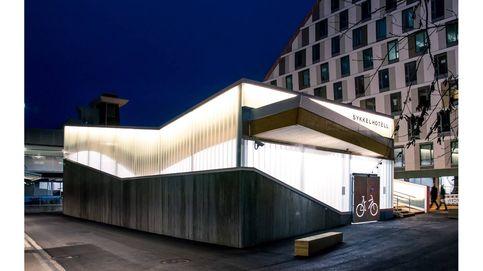Lillestrøm: un hotel exclusivo y sostenible solo para bicicletas
