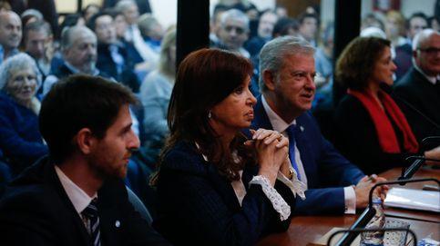 Cristina Fernández, en el banquillo