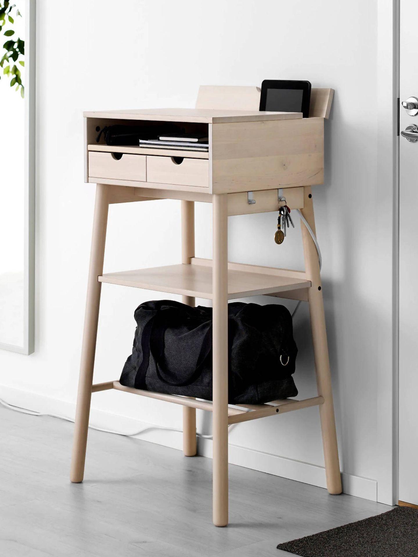 Escritorio multiusos de Ikea. (Cortesía)