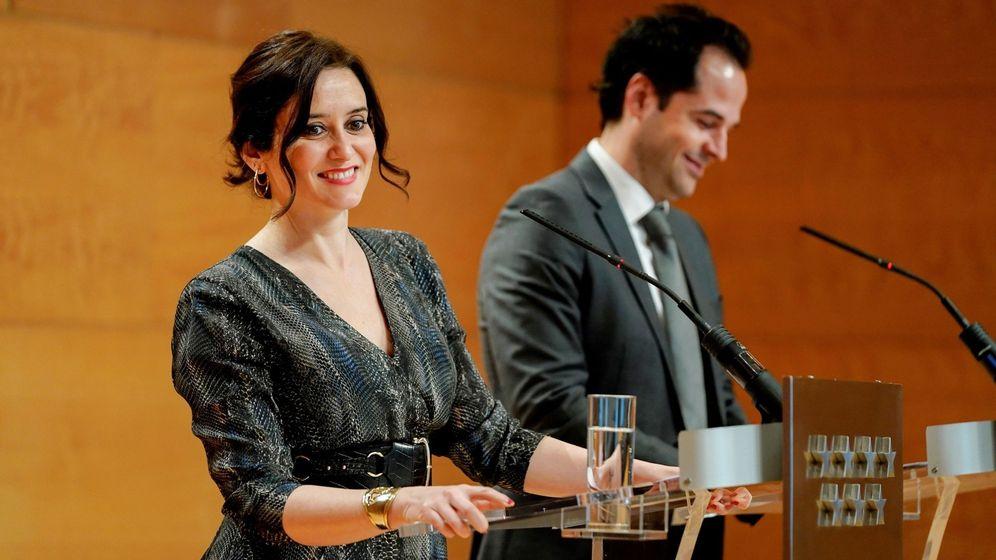 Foto: Isabel Díaz Ayuso e Ignacio Aguado. (Efe)