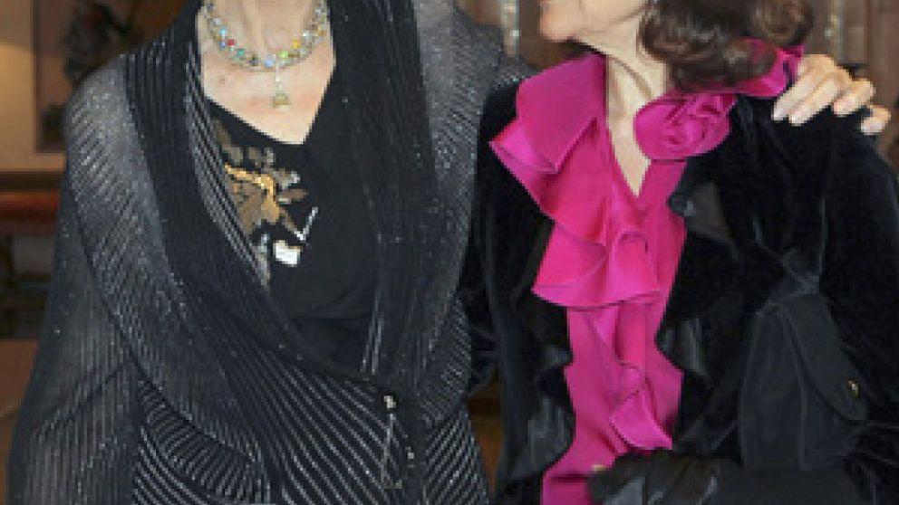 La Reina Sofía invita a cenar en Zarzuela a Silvia de Suecia